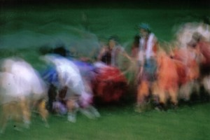 women rugby blurry artistic photo