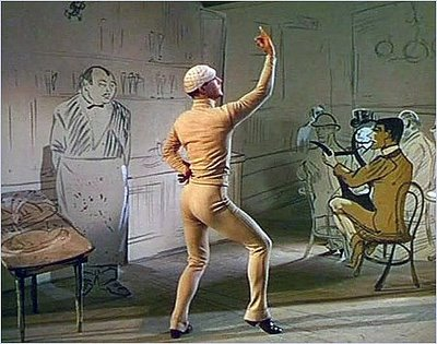 Gene Kelly's sexy butt from American in Paris
