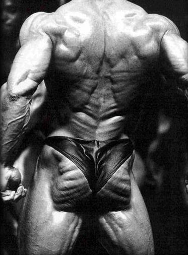 muscular butt, not attractive butt