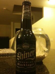Shiner beer bottle