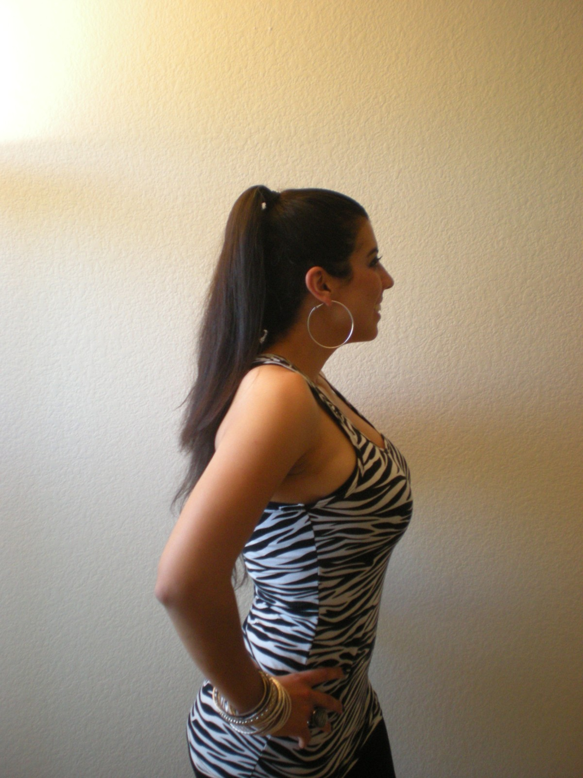 LittlestMartha's Zebra hair for the Safari pub crawl