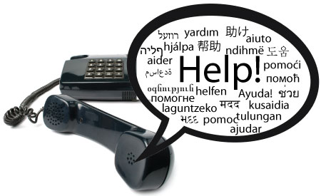 Childhelp Abuse Hotline 170 languages