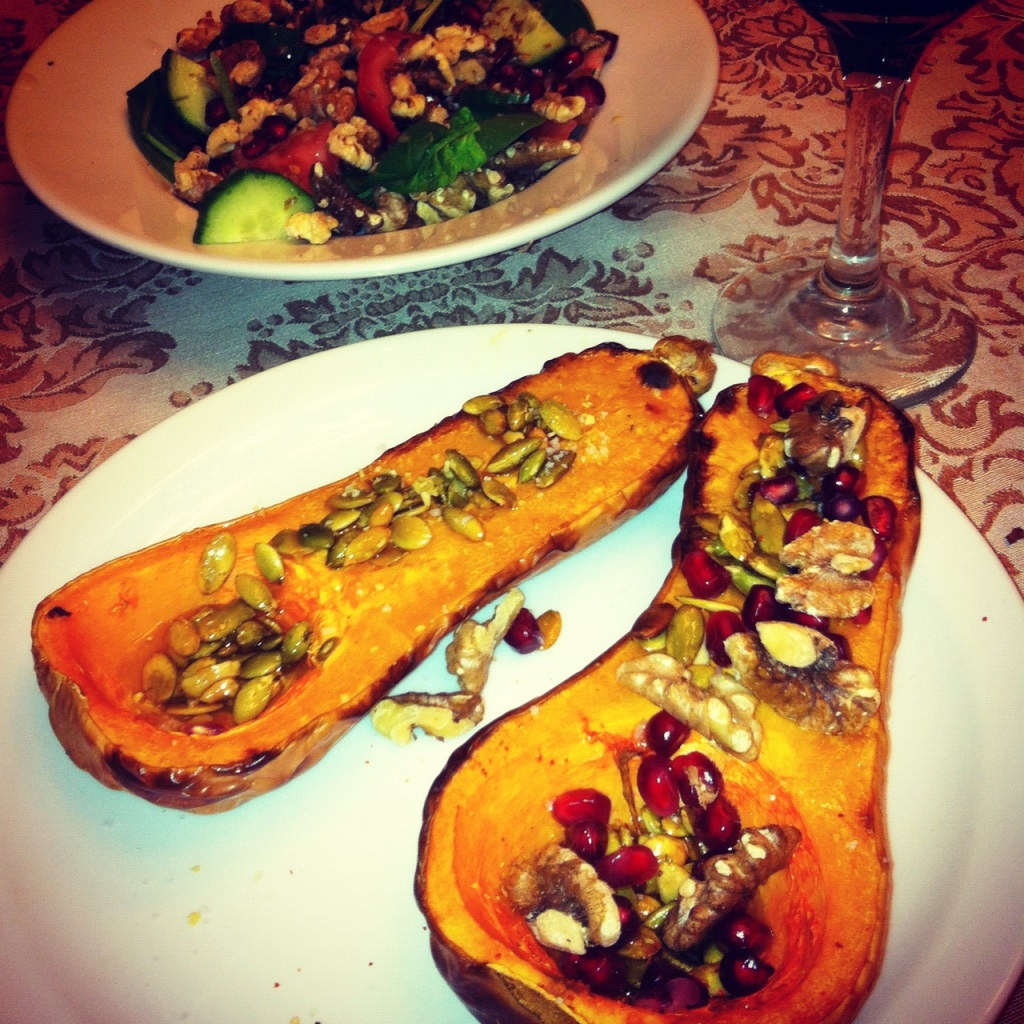 sweet and savory butternut squash