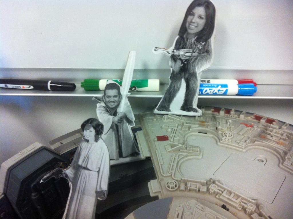 Personalized Star Wars crew 3